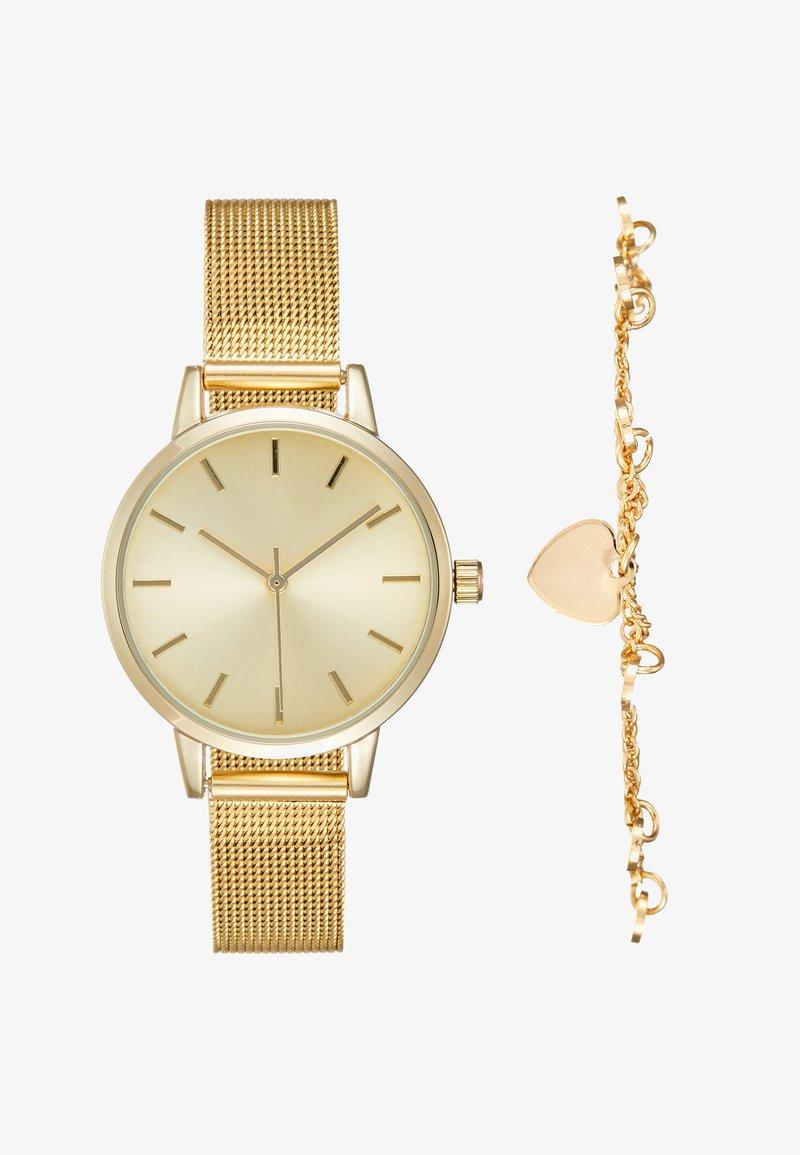 Even&Odd - SET - Horloge - gold-coloured