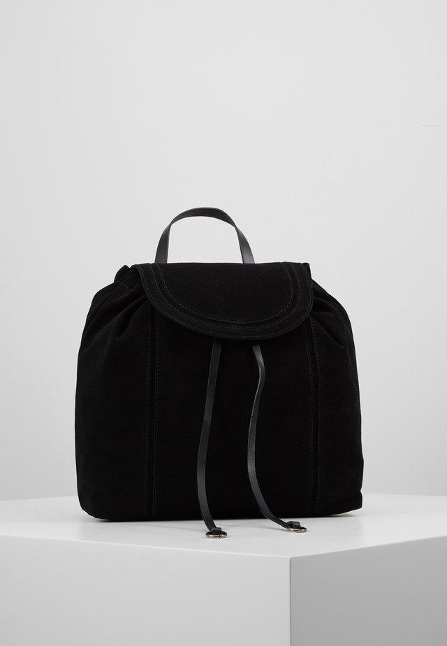 LEATHER - Plecak - black