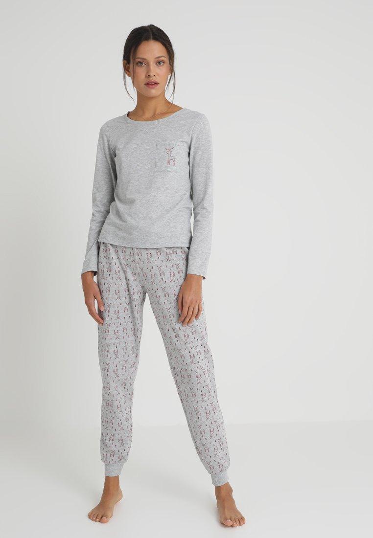Even&Odd - SET - Yöasusetti - grey