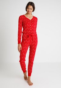 Even&Odd - Pyjama - red - 1