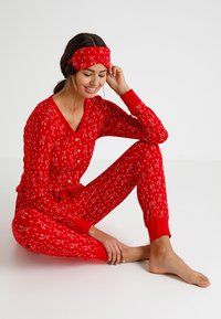 Even&Odd - Pyjama - red - 0