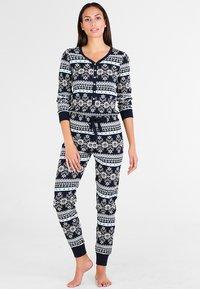Even&Odd - Pyjamas - dark blue - 0