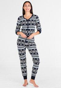 Even&Odd - Pyjamas - dark blue - 1