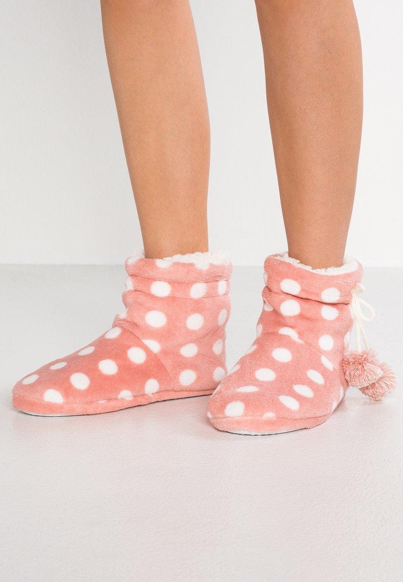 Even&Odd - SPOT SLIPPER BOOT - Hausschuh - pink