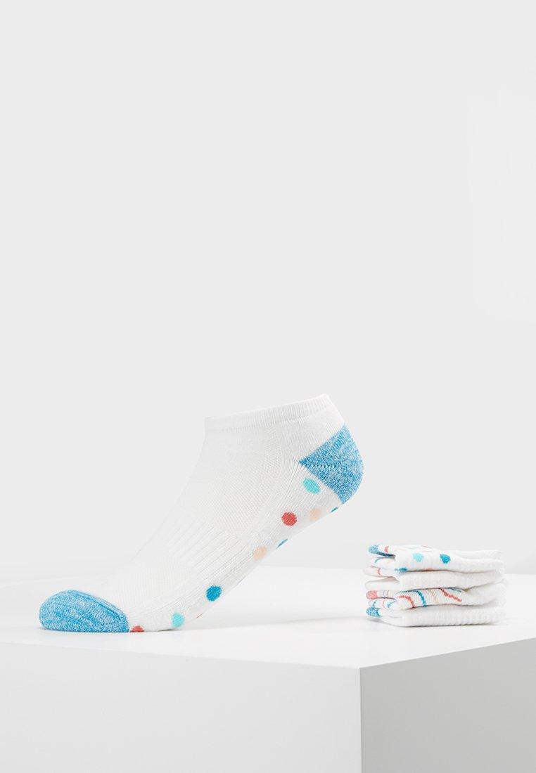 Even&Odd - 5 PACK - Socks - white