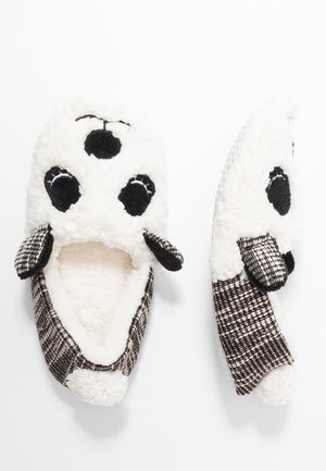 Slippers - white/ black