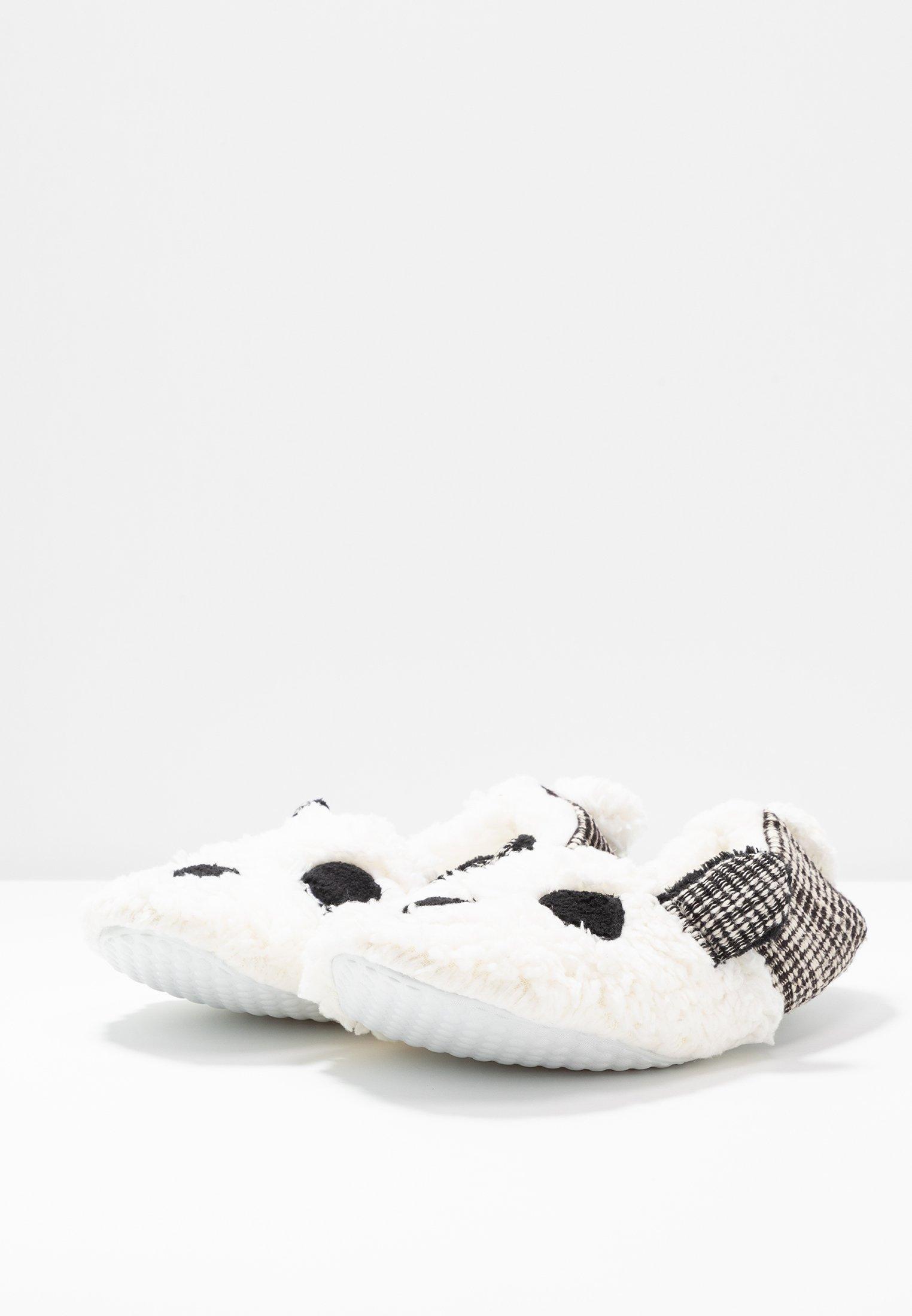 Even&Odd Kapcie - white/ black