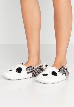 Chaussons - white/ black