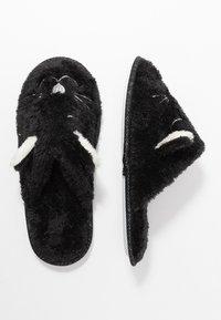 Even&Odd - Pantofole - black - 3