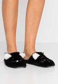 Even&Odd - Pantofole - black - 0
