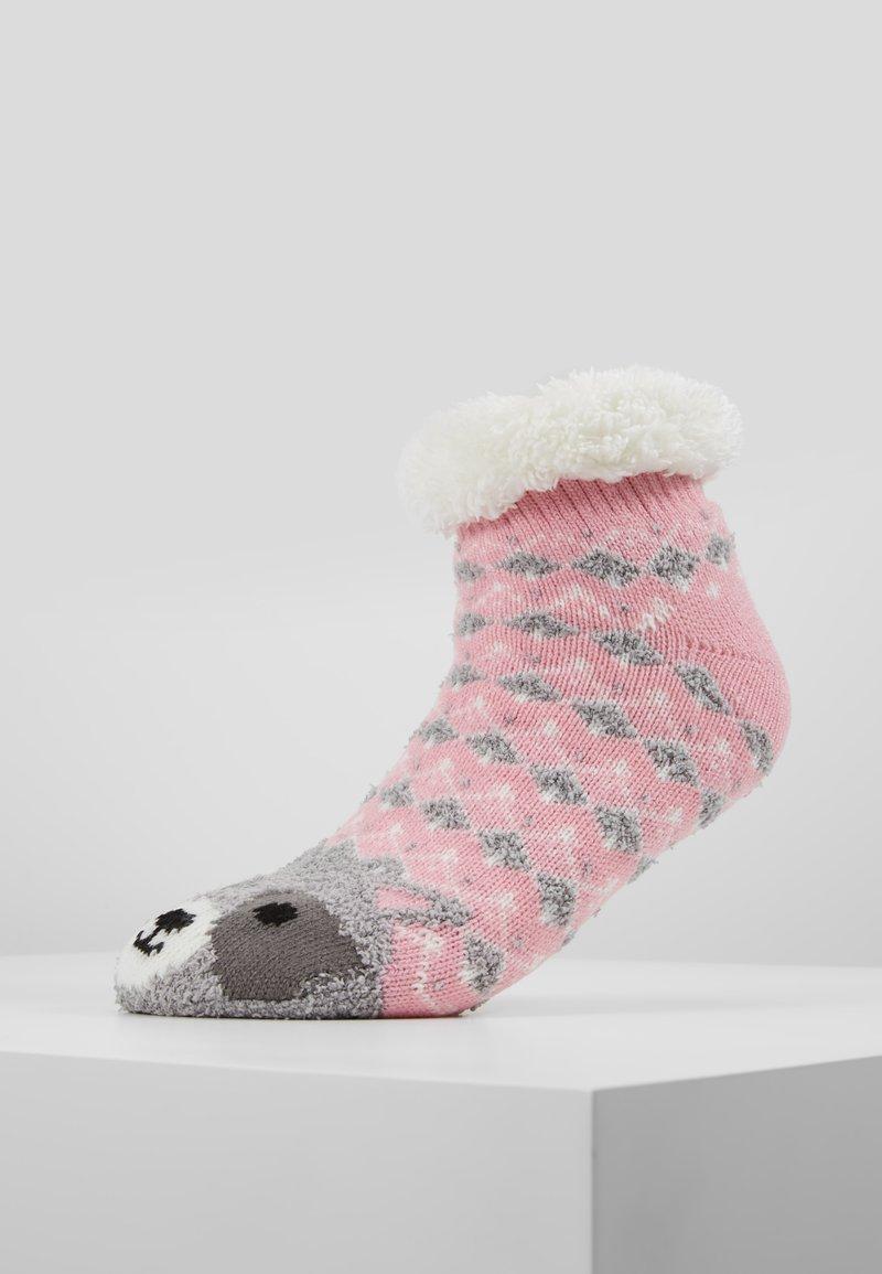 Even&Odd - Calze - grey/pink