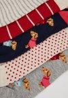 Even&Odd - 5 PACK - Socken - offwhite