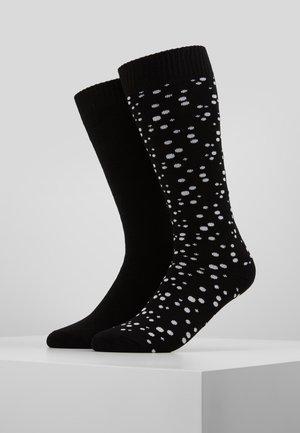 2 PACK - Sokken - white/black