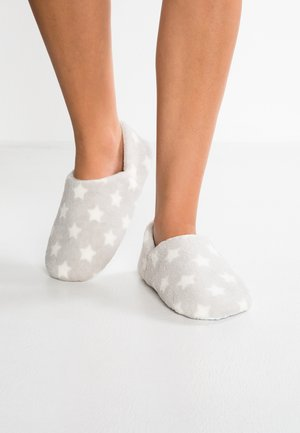 Slippers - light grey marl