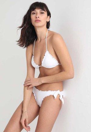 2 PACK - Bikinitoppe - white/red