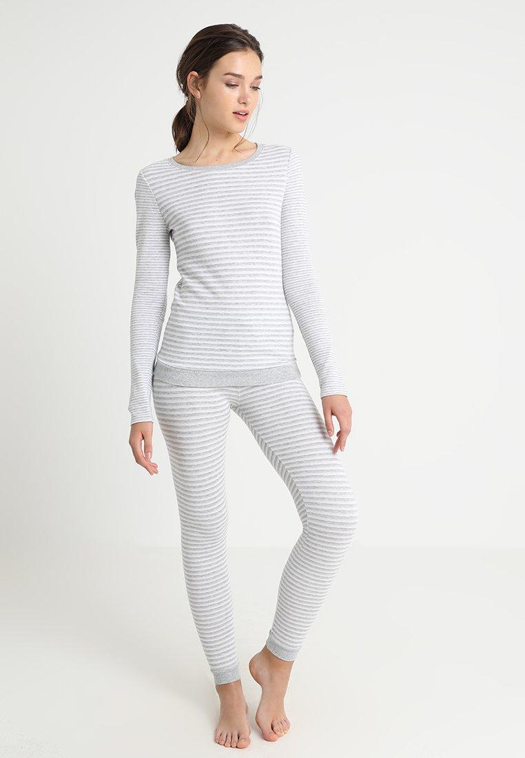 Even&Odd - SET - Pyjama - light grey/white