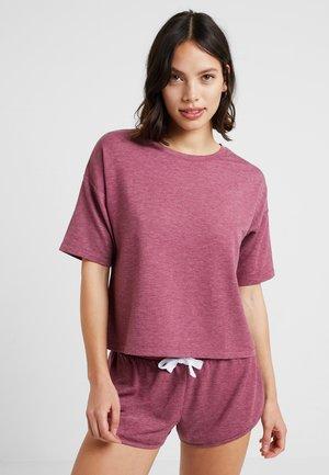 SET - Pyžamová sada - red
