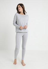 Even&Odd - Piżama - grey - 0