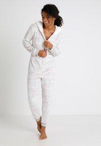 Even&Odd - Pyjama - grey - 0