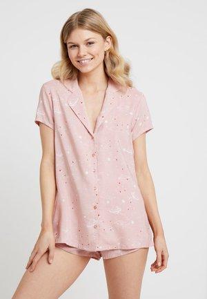 SET - Pyjama set - white/rose