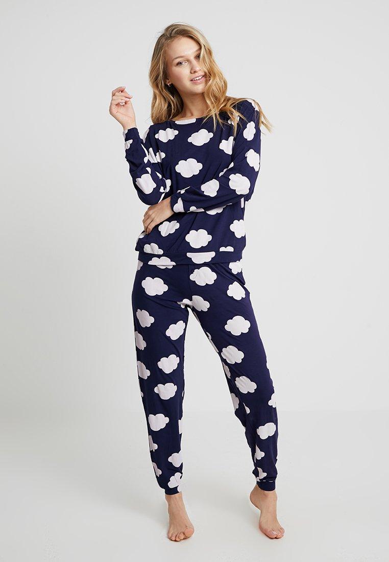 Even&Odd - SET - Pyjama set - dark blue