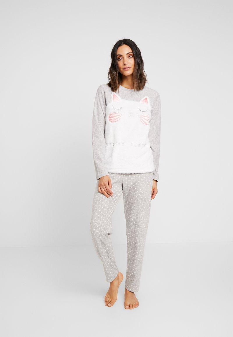 Even&Odd - SET - Pyžamová sada - grey/white