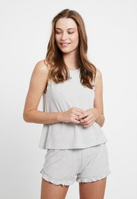 Even&Odd - SET - Pyjamaser - grey/white - 1