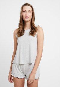Even&Odd - SET - Pyjamaser - grey/white - 0