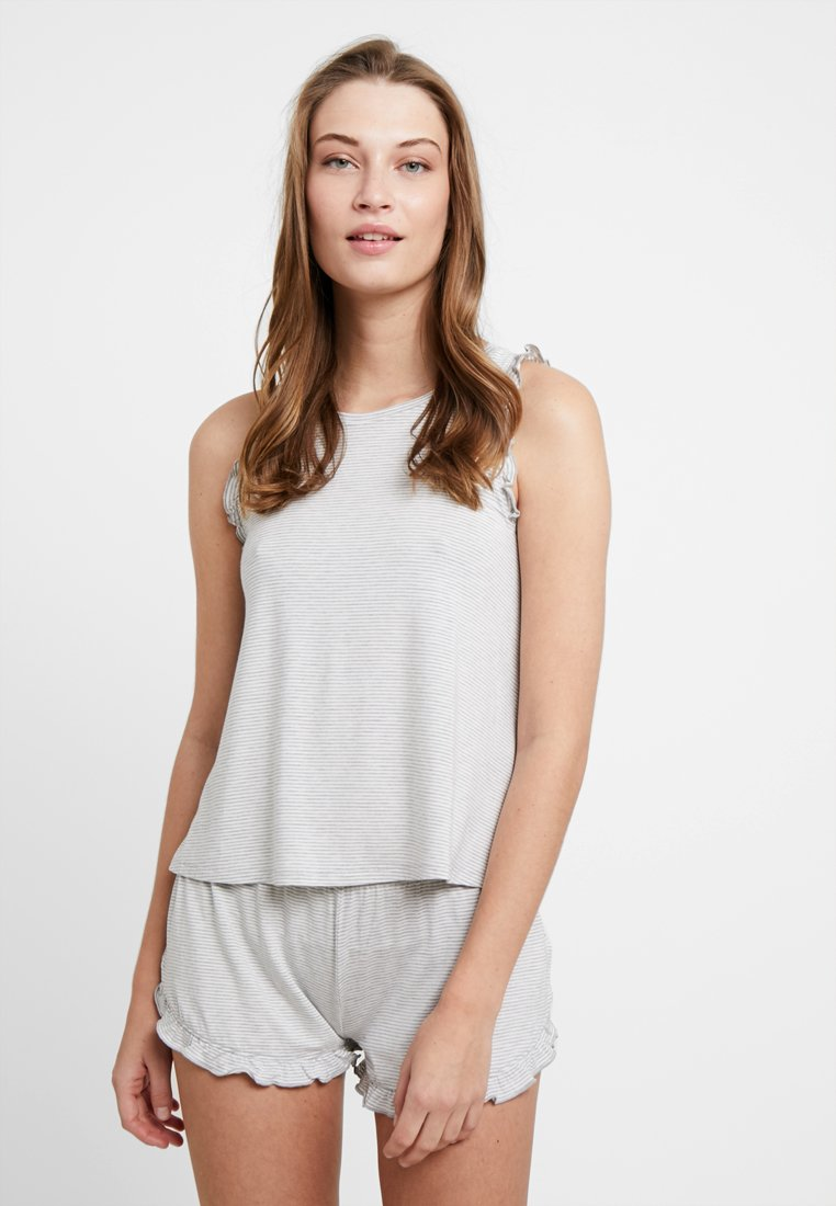 Even&Odd - SET - Pyjamaser - grey/white