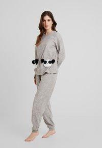 Even&Odd - SET - Pyjamas - grey - 0