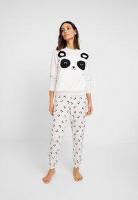 Even&Odd - SET - Pyjamas - grey/white - 1