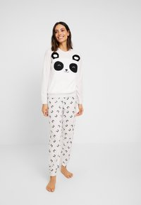 Even&Odd - SET - Pyjamas - grey/white - 0