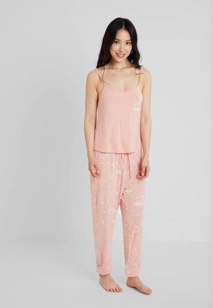 SET - Piżama - white/pink