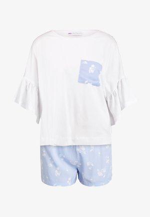 Set - Piżama - white/blue