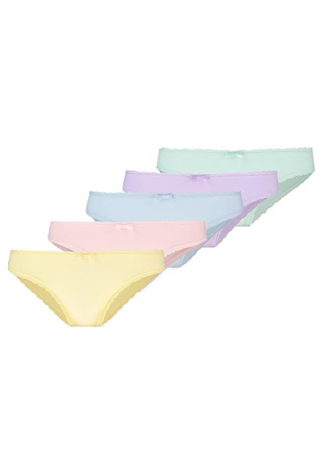 5 PACK - Slip - multicoloured