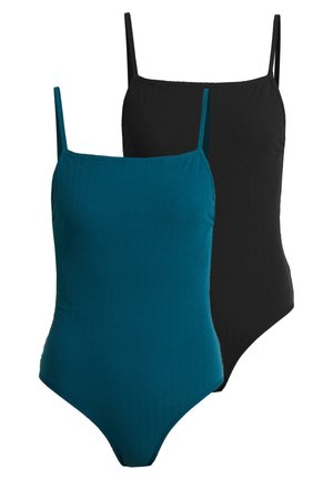 2 PACK - Body - black/green