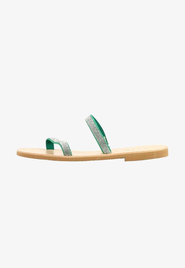 GRETA  - Ciabattine - green