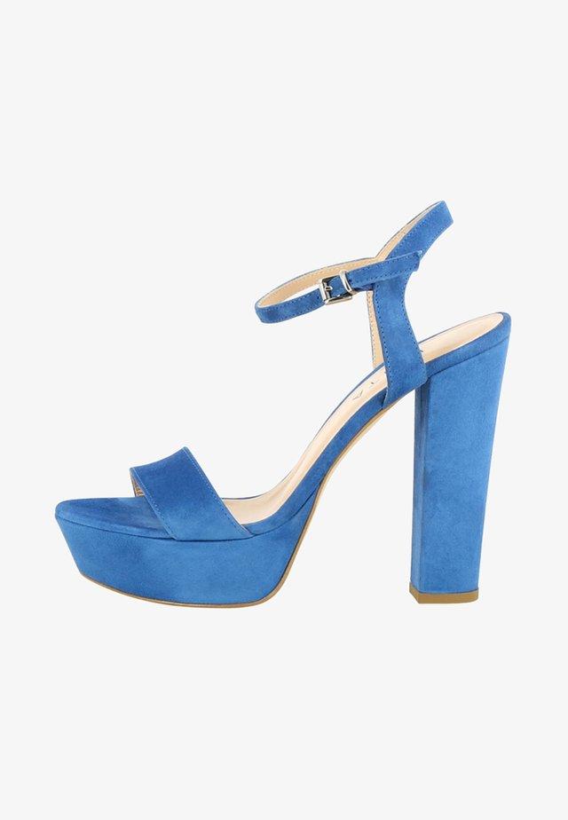 STEFANIA - Sandales à talons hauts - blue