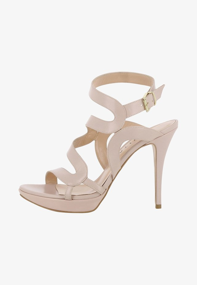 VALERIA - High heeled sandals - nude