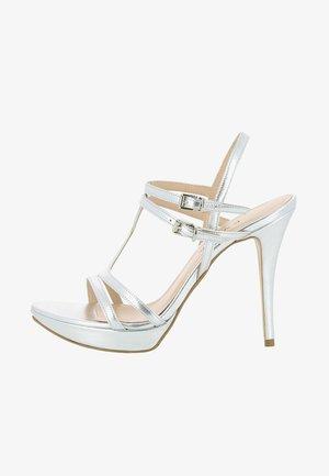 VALERIA - High heeled sandals - silver