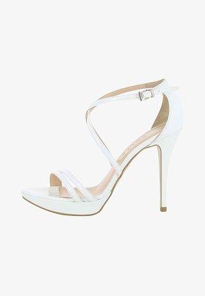 VALERIA - Sandali con tacco - white