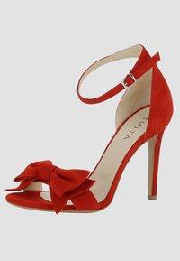 Evita - Sandalen met hoge hak - red - 2