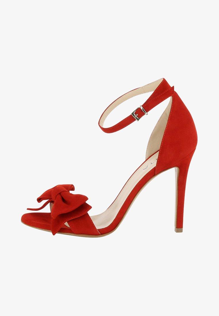 Evita - Sandalen met hoge hak - red