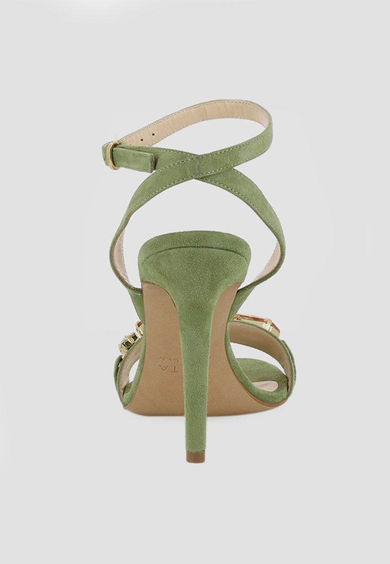 Evita Højhælede sandaletter / Højhælede sandaler - olive