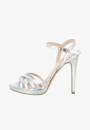 DAMEN SANDALETTE EVA - High heeled sandals - silver