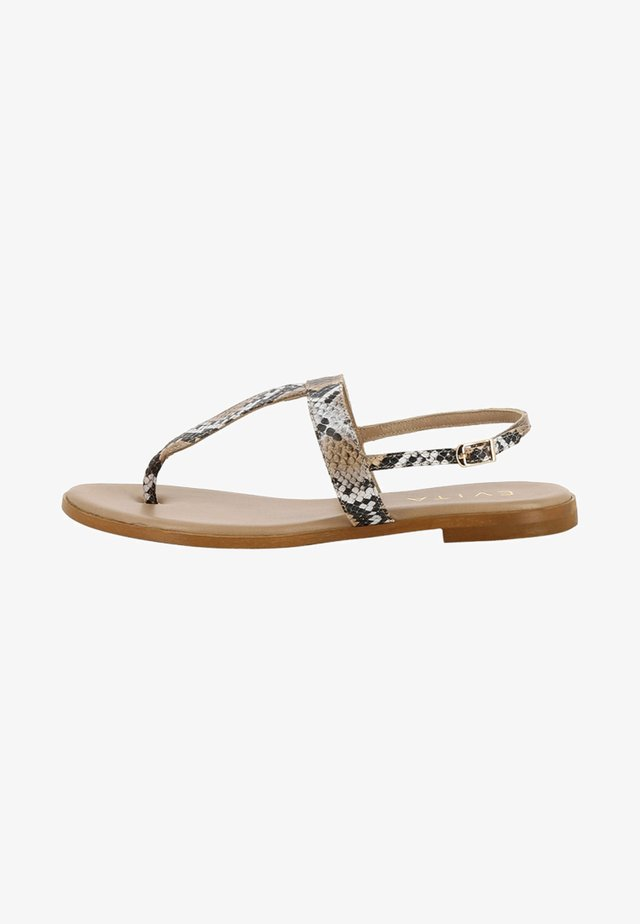 OLIMPIA - Sandals - brown