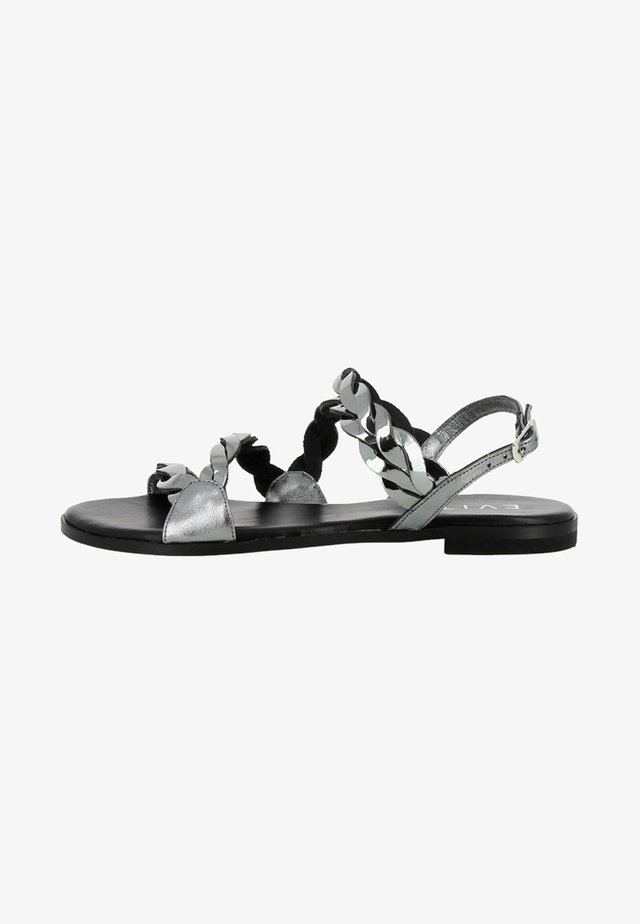 OLIMPIA - Sandals - silver