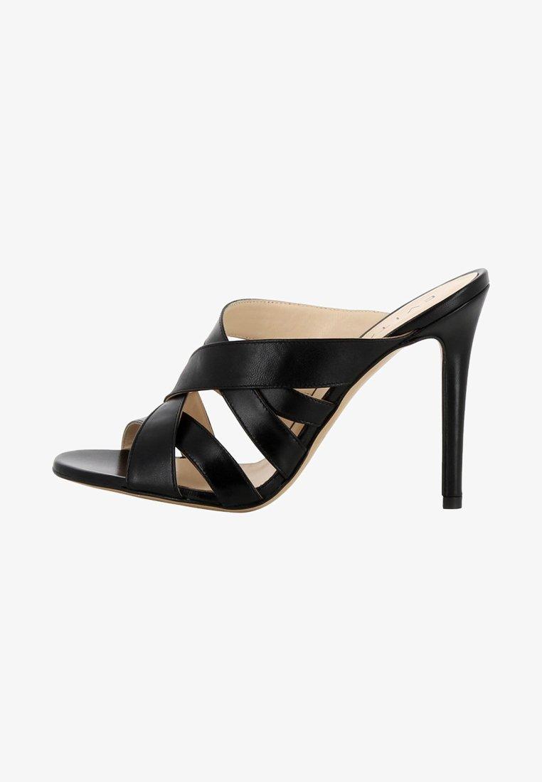 Evita - DAMEN SANDALETTE EVA - Højhælede sandaletter / Højhælede sandaler - black