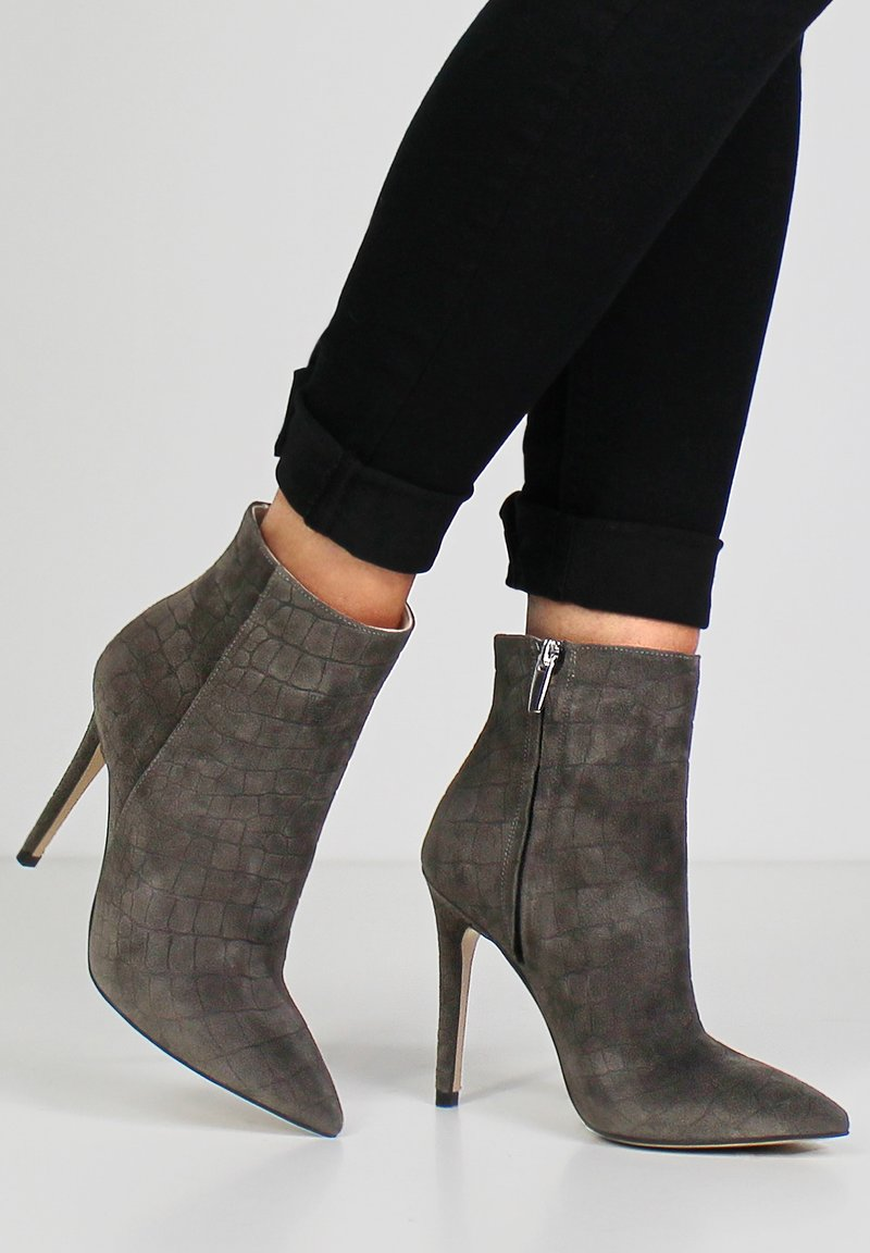 Evita - ALINA - High heeled ankle boots - taupe