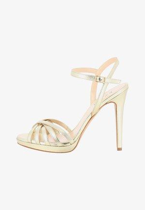 EVA - High heeled sandals - gold